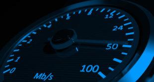 قياس سرعة الأنترنت